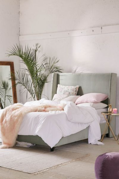 Winona Wingback Bed Urban Outfitters