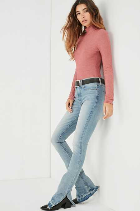 BDG High-Rise Split Seam Jean