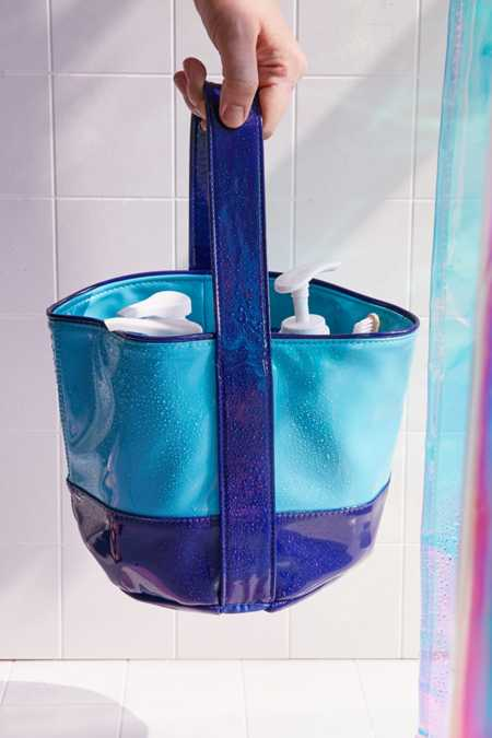 Remy Patent Shower Tote
