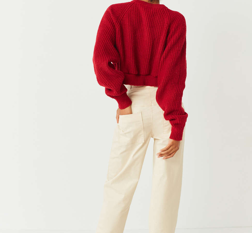 Slide View: 1: UO High-Rise Straight-Leg Skate Pant