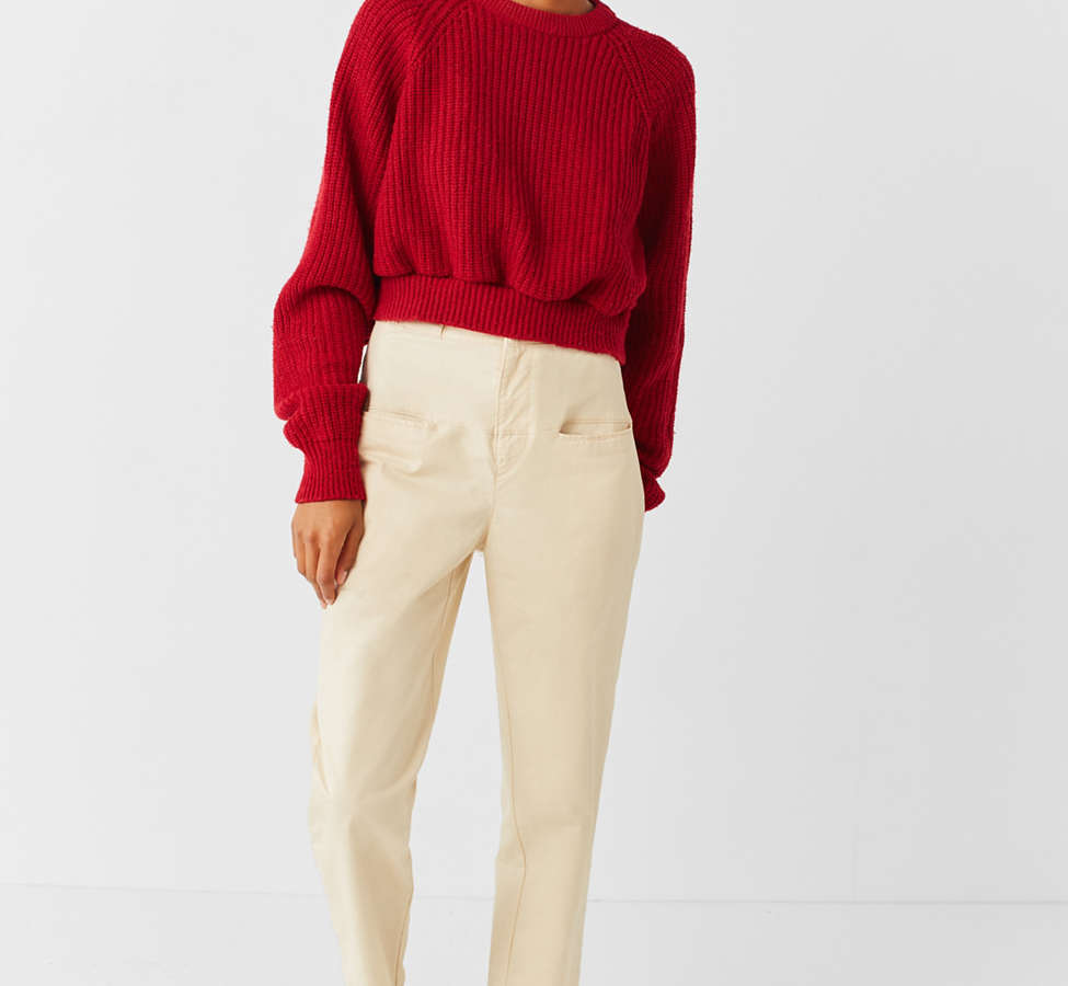Slide View: 5: UO High-Rise Straight-Leg Skate Pant
