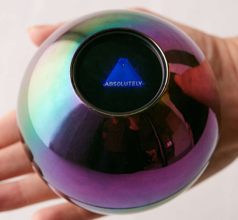 Slide View: 1: Oil Slick Magic 8 Ball
