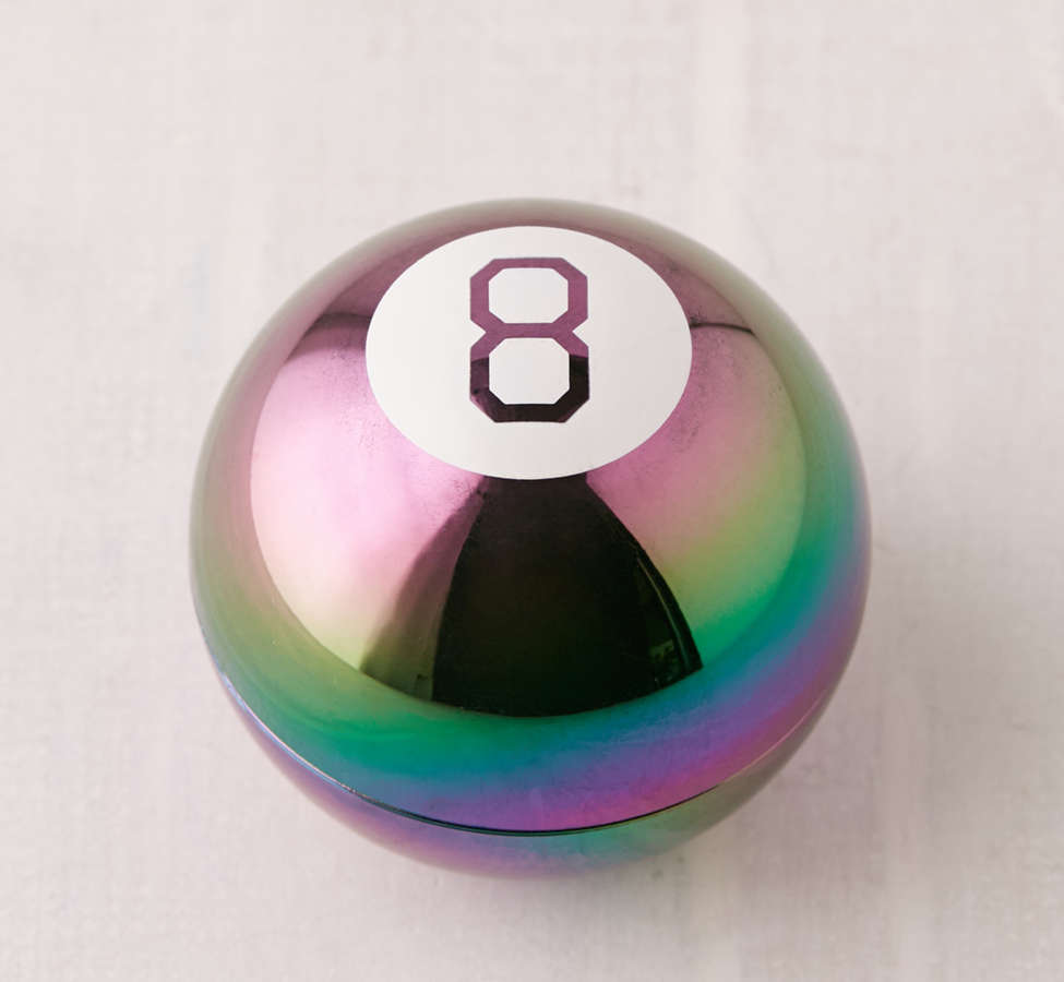Slide View: 2: Oil Slick Magic 8 Ball