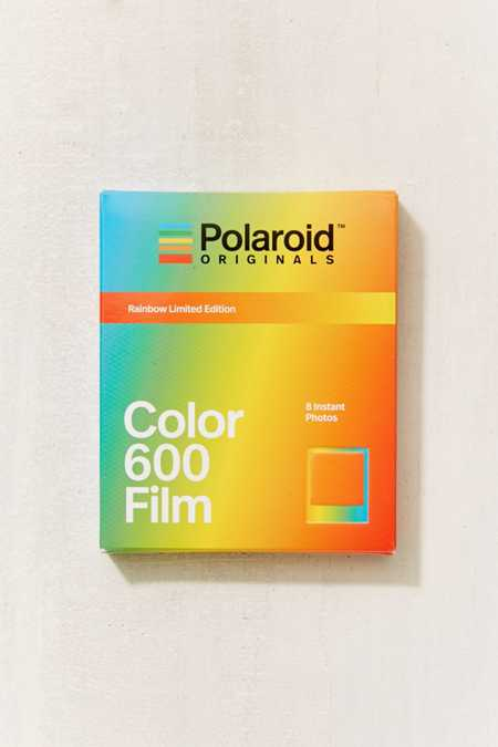 Polaroid Originals X UO Limited Edition Rainbow Frame 600 Instant Film