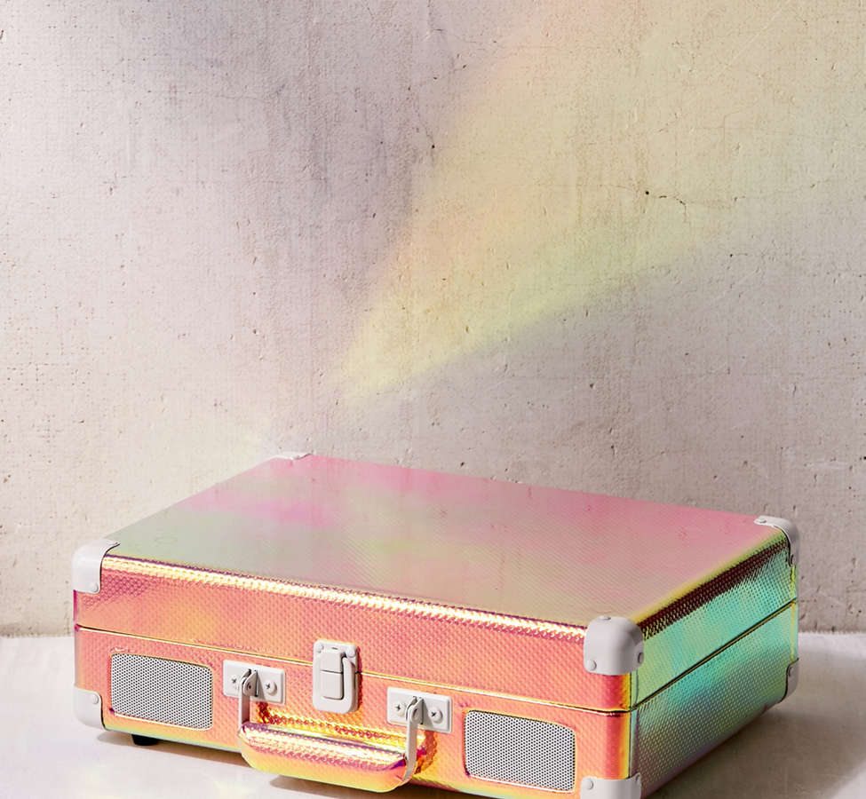 Slide View: 2: Crosley Rainbow Holographic Cruiser Bluetooth Record Player