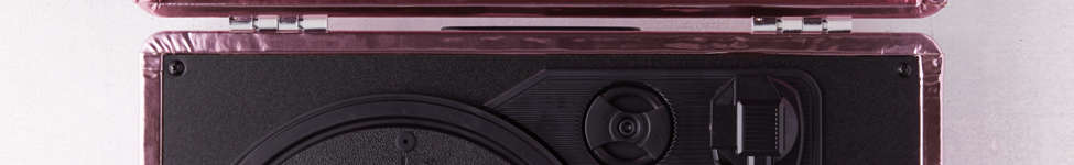Thumbnail View 3: Crosley Pink Foil Cruiser Bluetooth Record Player