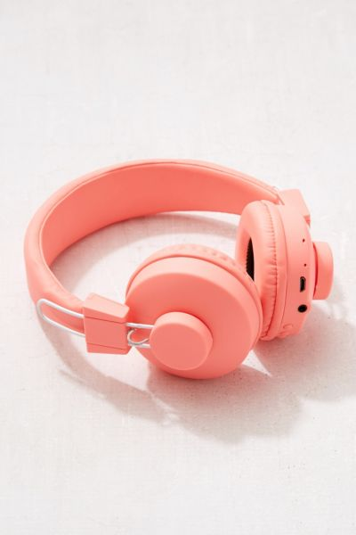 UO Wireless Bluetooth Headphone - Coral One Size at Urban Outfitters