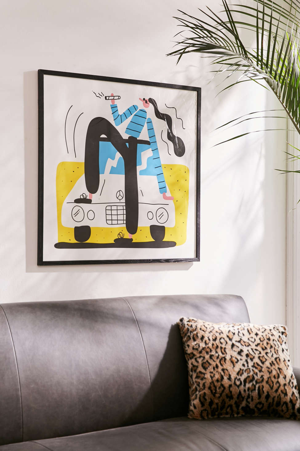 Slide View: 1: Lawrence Slater New Car Art Print