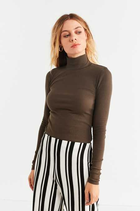 UO Leland Bodycon Turtleneck Top