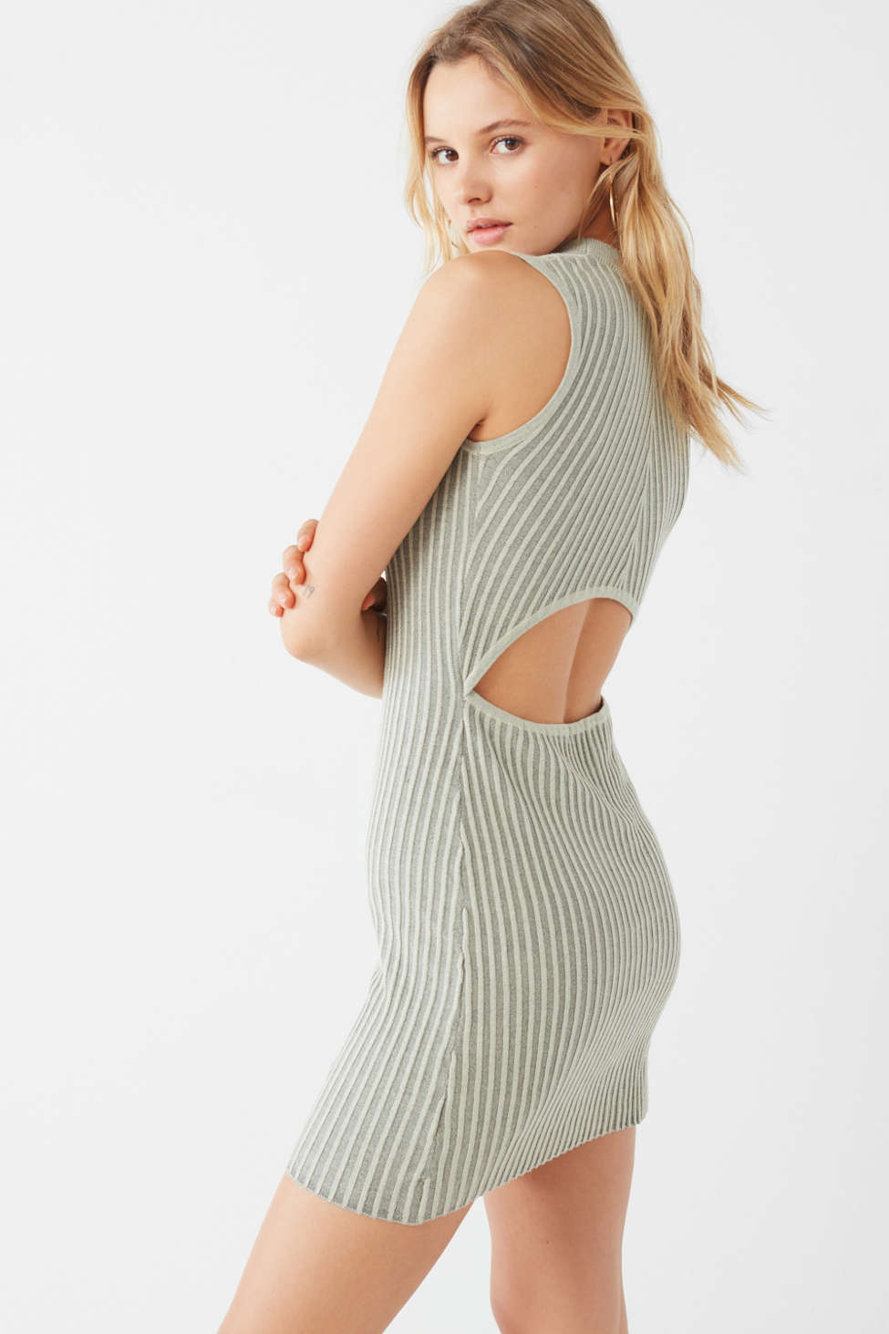 UO Bodycon Ribbed Sweater Dress | Urban Outfitters