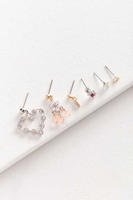 Roxi Mismatched Post Earring Set