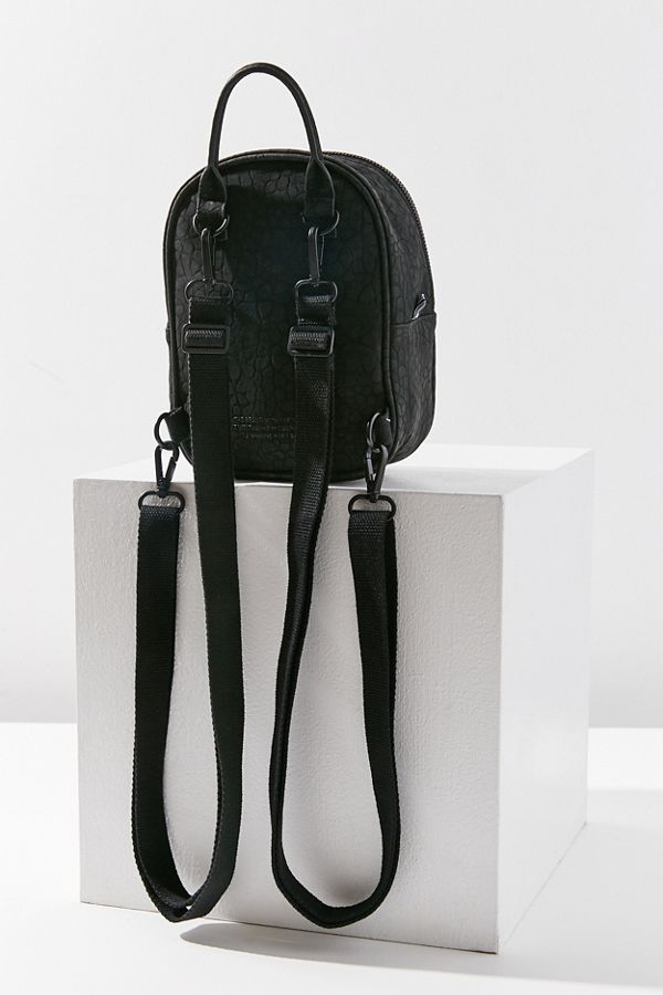 f6a2edc2a3a7 Adidas Originals Classic Mini Faux Leather Backpack Urban Outfitters