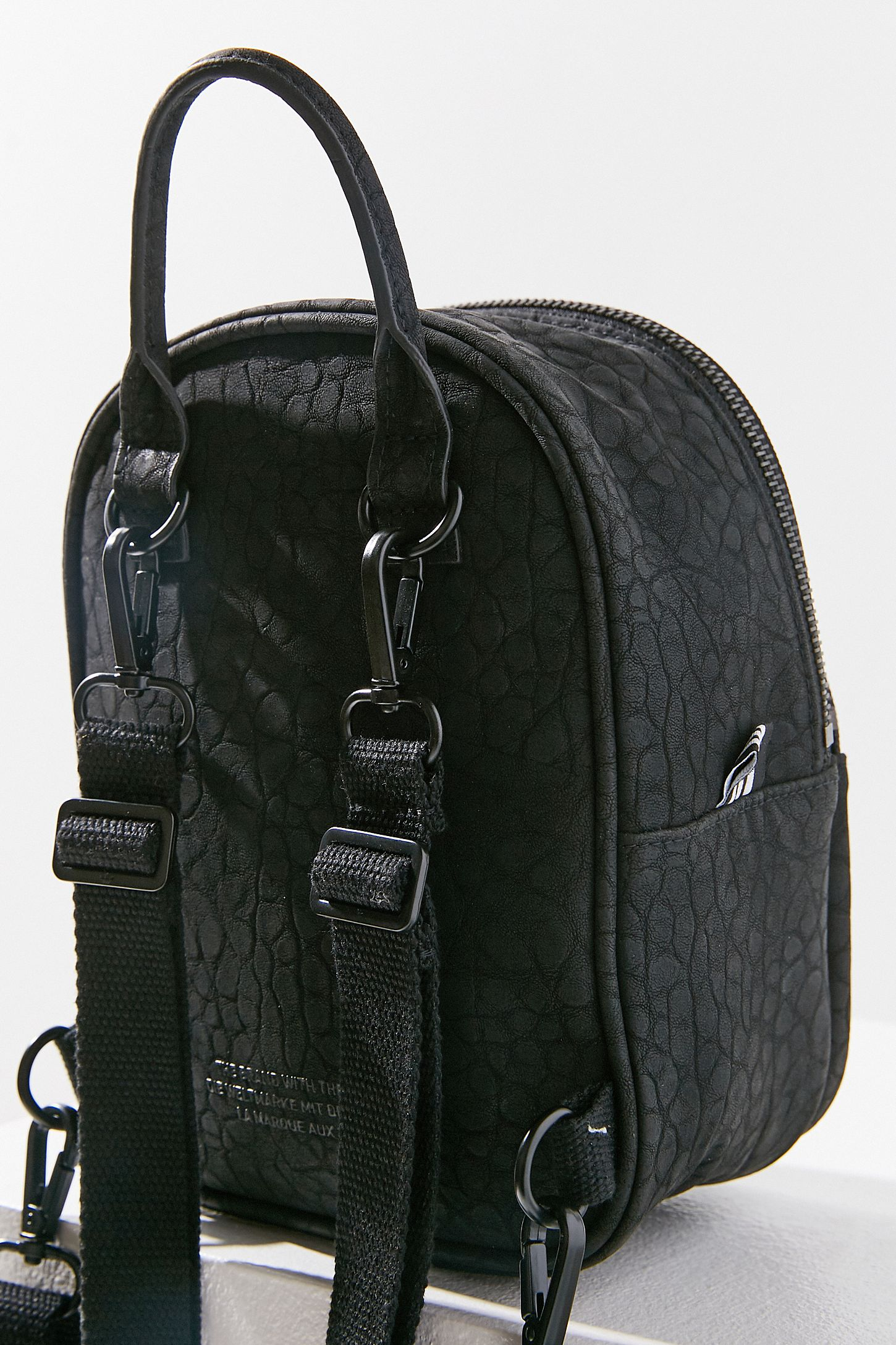 Adidas Faux Leather Mini Backpack- Fenix Toulouse Handball 4566387a0bfb0