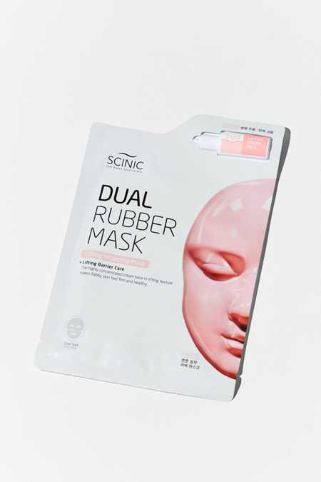 Scinic Dual Rubber Sheet Mask