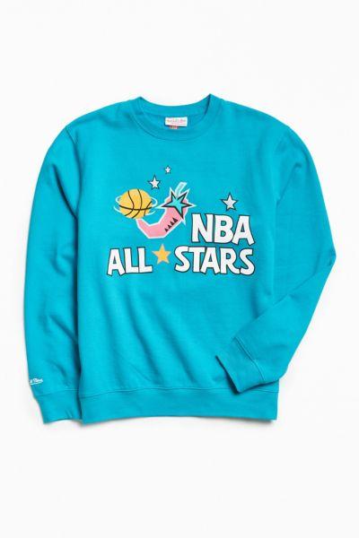 Mitchell & Ness '96 Nba All Stars Crew Neck Sweatshirt by Mitchell & Ness