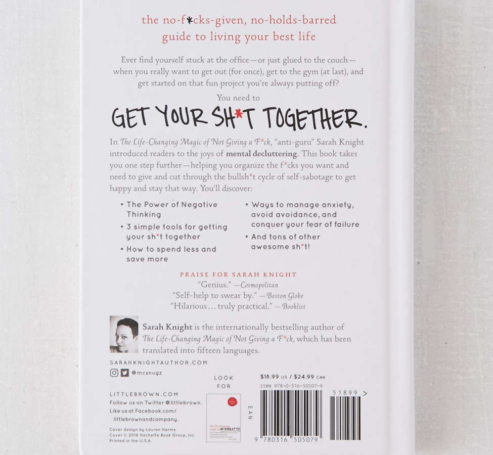 Slide View: 2: Get Your Sh*t Together par Sarah Knight