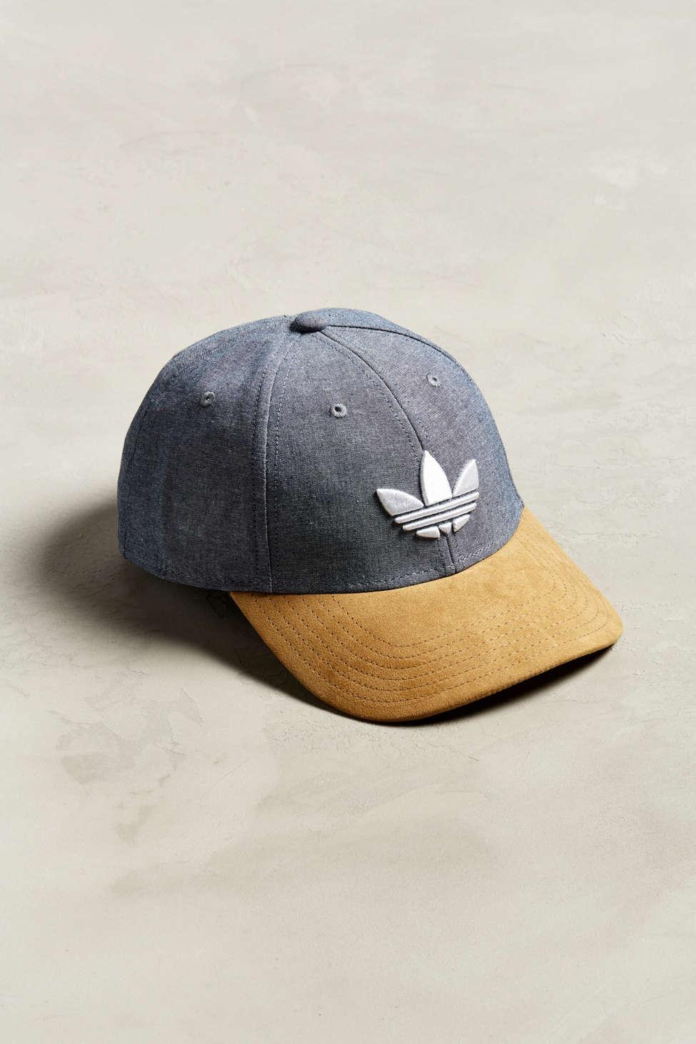 adidas originali trifoglio e snapback cappello urban outfitters