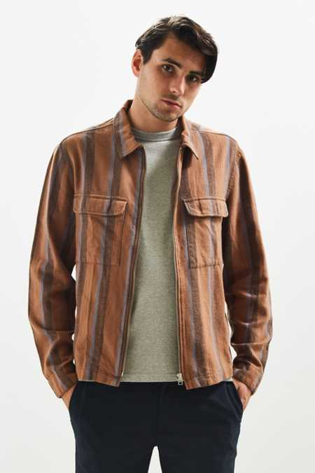 UO Ryder Zip Flannel Shirt