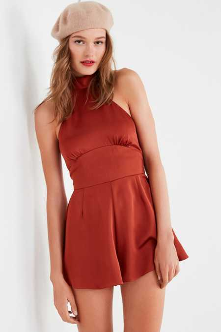 Finders Keepers Afterglow Halter Romper