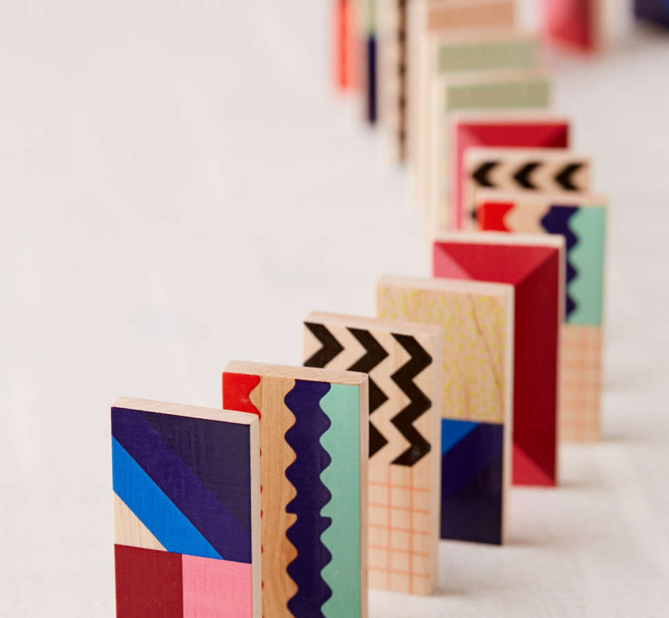Slide View: 2: UO Modern Dominoes Box Set