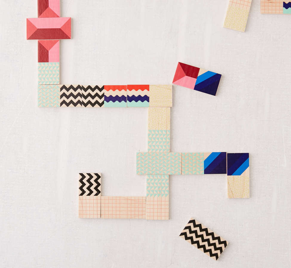 Slide View: 3: UO Modern Dominoes Box Set