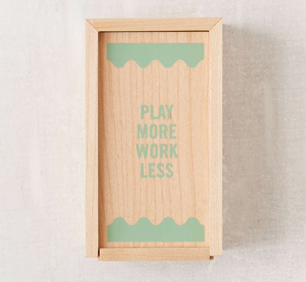 Slide View: 4: UO Modern Dominoes Box Set
