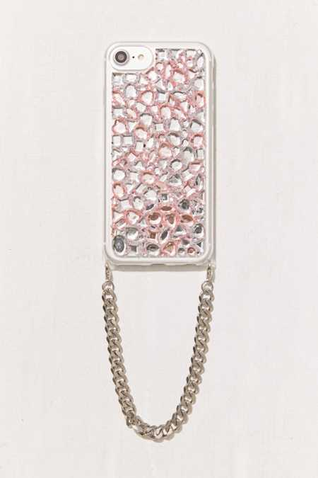 Bling It On Diamond Wristlet iPhone 8/7/6/6s Case