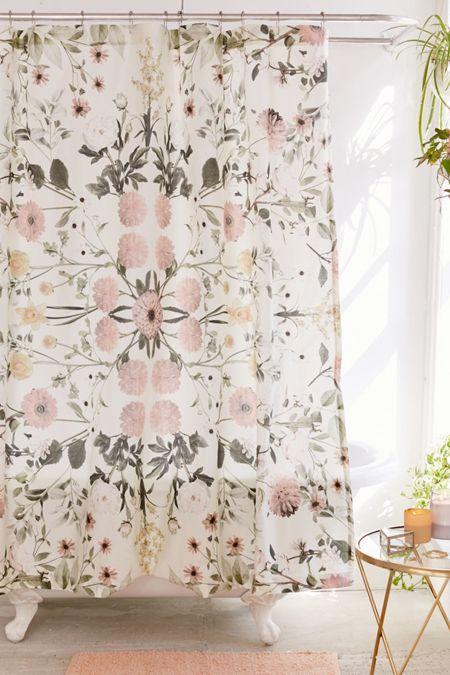 Daniella Floral Shower Curtain