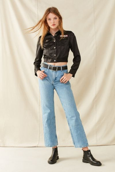Vintage Lee High-Rise Mom Jean - Indigo XS at Urban Outfitters
