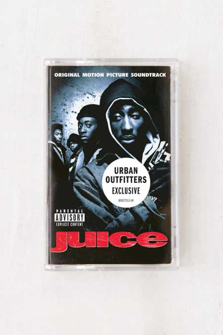 Various Artists - Juice Original Motion Picture Soundtrack Exclusive Cassette Tape