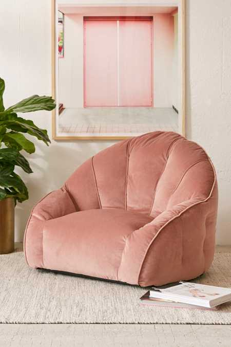 Cosette Velvet Lounge Chair