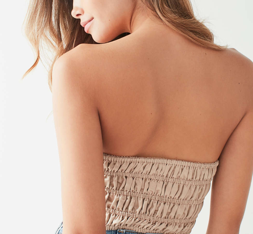 Slide View: 3: Out From Under Sequin Embellished Corset Bra