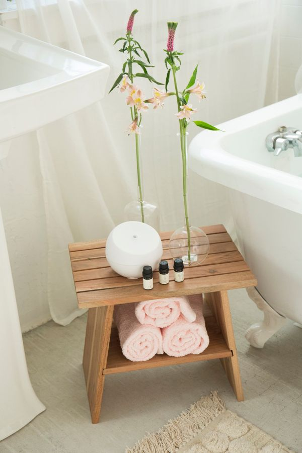 Kanae Bath Stool Urban Outfitters - Bathroom outfitters