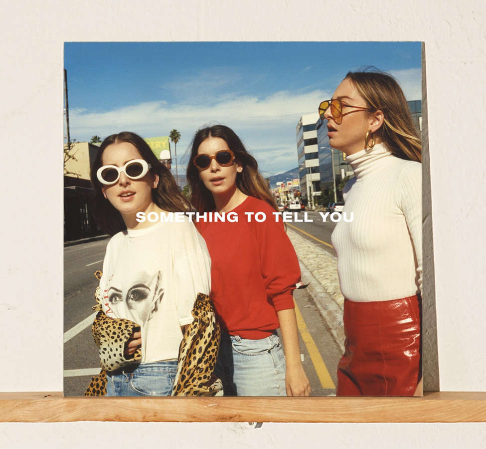 Slide View: 1: HAIM - Something To Tell You Exclusive 2XLP
