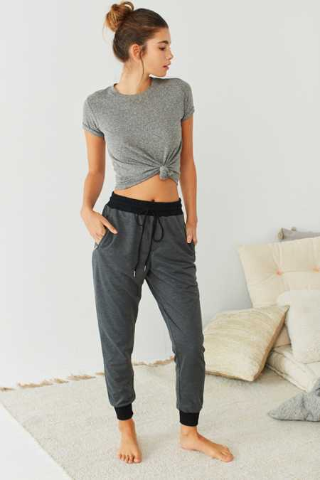 Out From Under Anna Zipper Jogger Pant