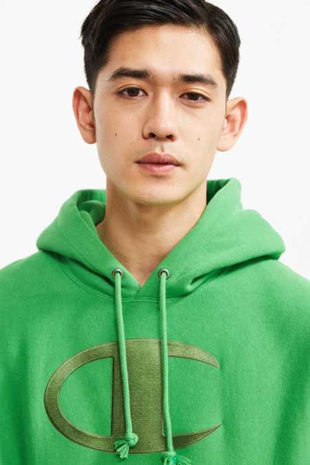 Champion Big C Reverse Weave Hoodie Sweatshirt