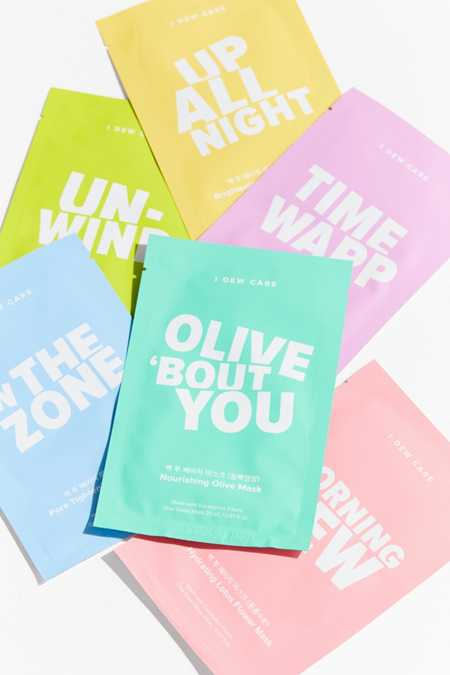 I Dew Care Let's Get Sheet Faced 14 Day Sheet Mask Set
