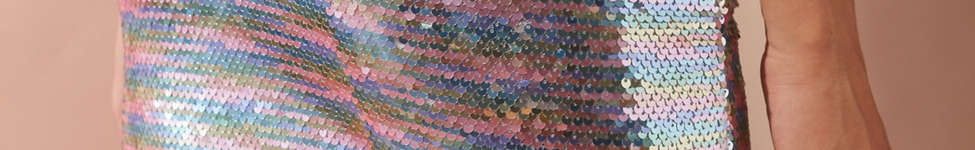 Thumbnail View 5: UO Rainbow Sequin Mini Skirt