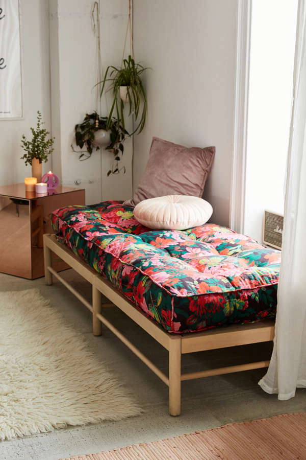 Vera Floral Daybed Cushion Urban Outfitters
