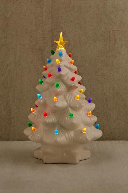 light up led nostalgia christmas tree