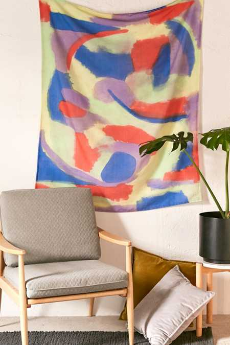 Sonia Abstract Rainbow Tapestry
