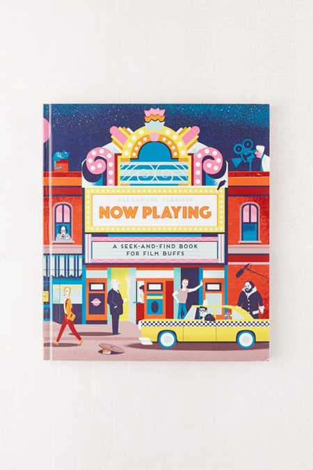 Now Playing: A Seek-and-Find Book for Film Buffs By Alexandre Clérisse