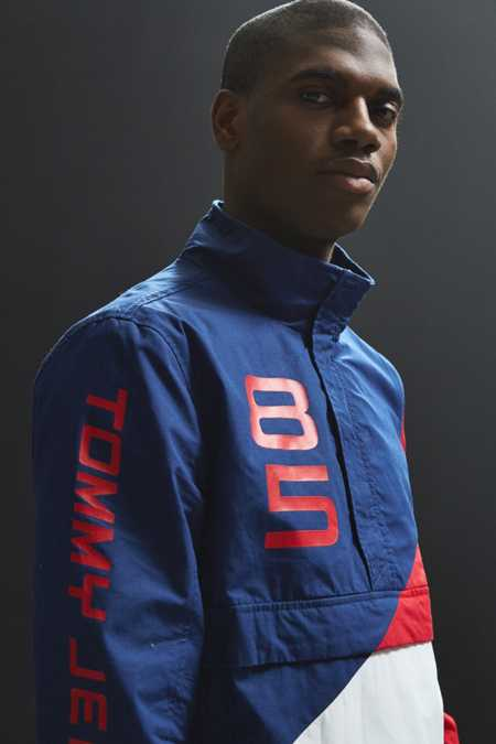 Tommy Jeans Retro Block Anorak Jacket
