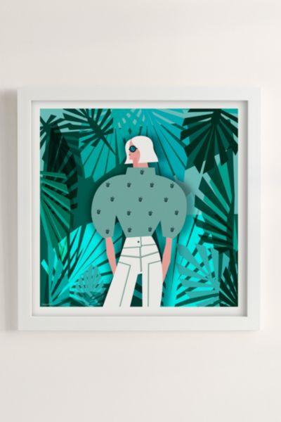 Veronica Grech Tropical Mood Art Print - Cream 16