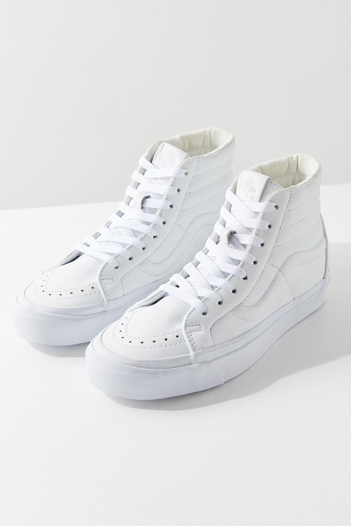 Vans Sk8-Hi Reissue Leather Sneaker  9fda10989f11