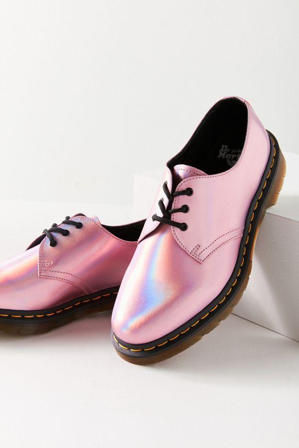 Shoes of Prey 1461 Iced Metallic 3-Eye Shoes - Women's get to buy cheap online JgFZ0i3