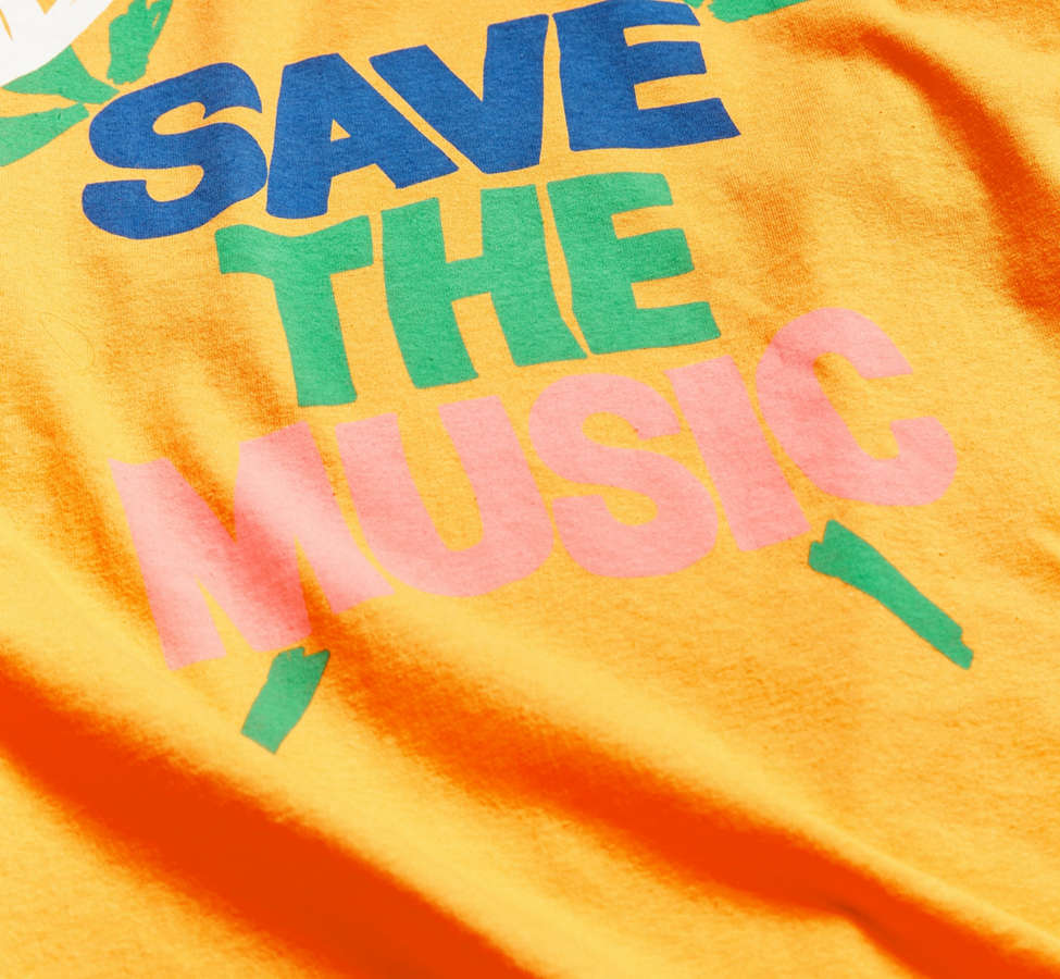 Slide View: 3: UO + VH1 Save The Music Foundation Long-Sleeve Tee
