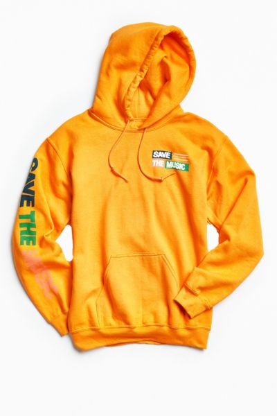 UO + VH1 Save The Music Foundation Hoodie Sweatshirt - Gold L at Urban Outfitters
