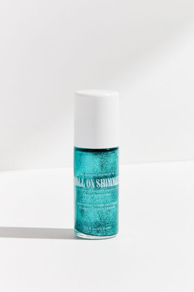 Lavender Stardust Roll-On Shimmer Body Glitter - Blue One Size at Urban Outfitters
