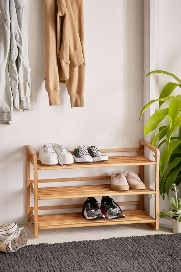 Bamboo Shoe Storage